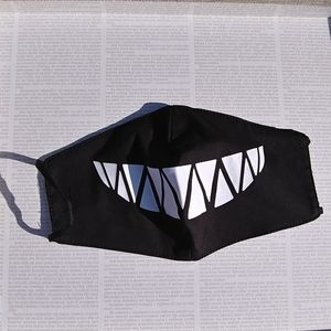 Adult Shark Teeth Print Face Mask Covering